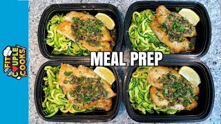How to Meal Prep - Ep. 59 - CHICKEN PICCATA - LOW CARB MEAL PREP thumbnail