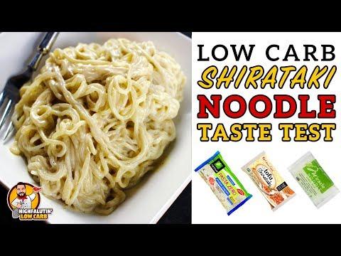 Low Carb SHIRATAKI NOODLE Review & Taste Test - Tips for the BEST Shirataki Noodle Recipe!
