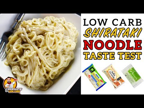 Low Carb SHIRATAKI NOODLE Review & Taste Test - Tips For The BEST Shirataki Noodle Recipe!