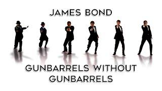 James Bond gunbarrels without gunbarrels