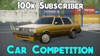 100k Automation Car Competition
