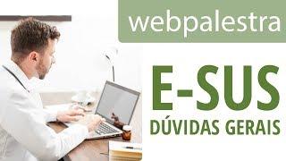 Webpalestra   DГєvidas frequentes sobre e SUS AB