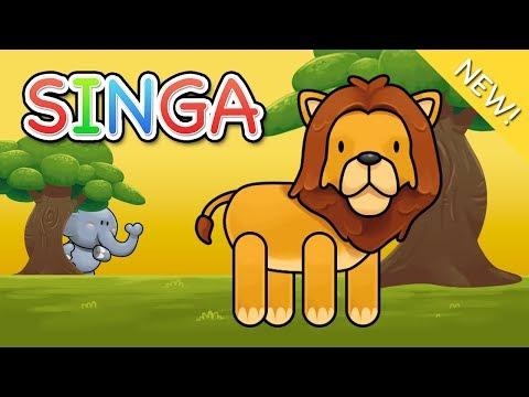 Lagu Anak Indonesia | Singa
