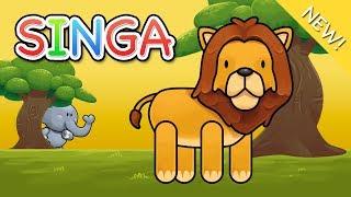 Video Lagu Anak Indonesia | Singa download MP3, 3GP, MP4, WEBM, AVI, FLV April 2018