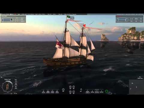 Naval Action- Snow in Light fleet Battle PVE-ALPHA- Gameplay 5