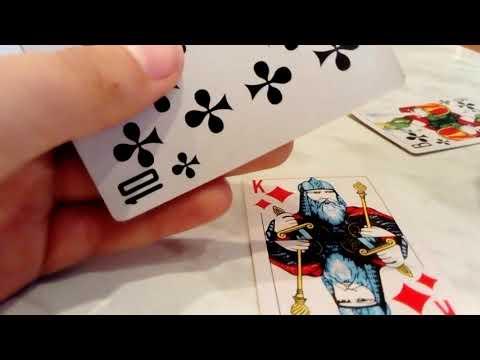 Карточная игра на одного игрока моё первое видео
