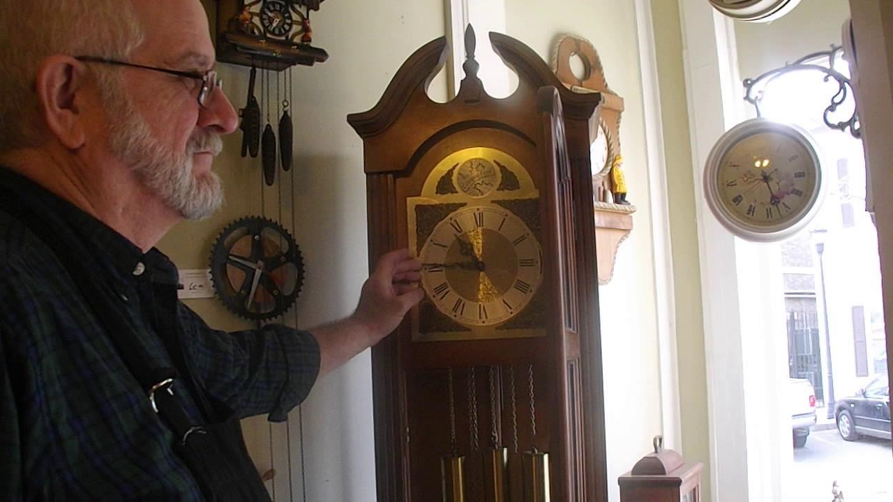 Seth Thomas Tempus Fugit Grandfather Clock