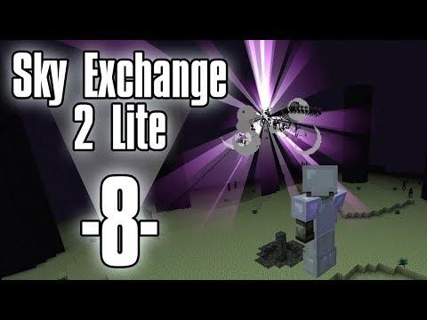 Dansk Minecraft - Sky Exchange 2 Lite #8 - Gratis EMC og The End (HD)