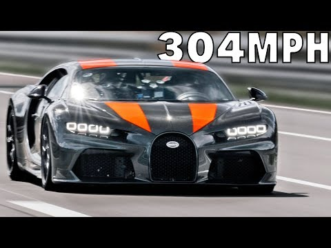 304 MPH Bugatti Chiron proto – The Fastest Car in the World