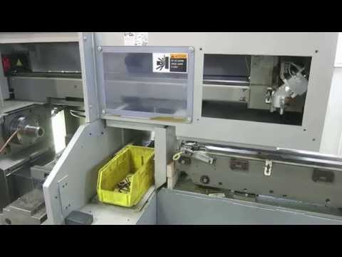 AMADA/WASINO G-05 2-AXIS CNC HIGH SPEED GANG TYPE CHUCKER WITH GANTRY LOADING SYSTEM