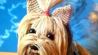 Амигуруми: схема Йоркширского терьера. Игрушки вязаные крючком! Free crochet patterns.