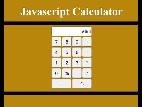 Javascript tutorial how to make a basic calculator youtube.