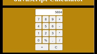 How to Create a Calculator in JavaScript