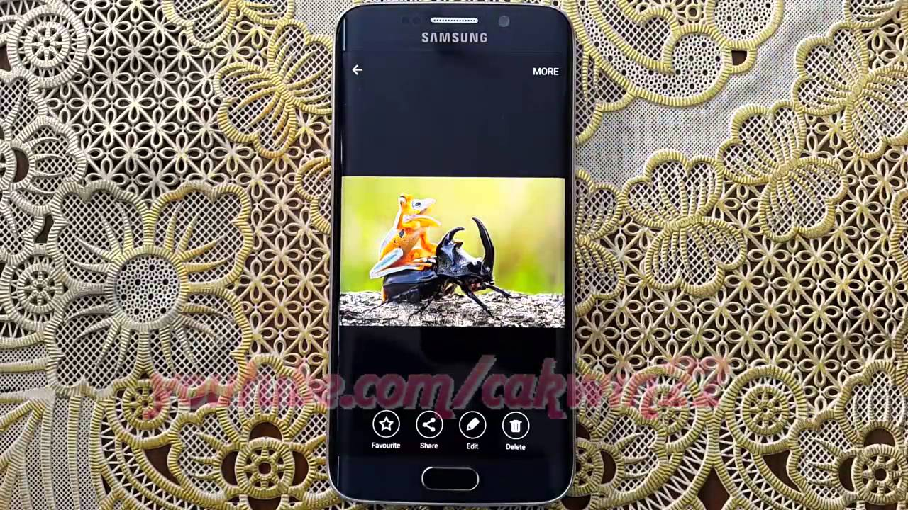 How To Set Picture As Wallpaper On Samsung Galaxy S6 Or S6