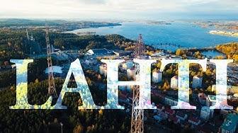 Lahti ilmasta: Flying over Finland 4K