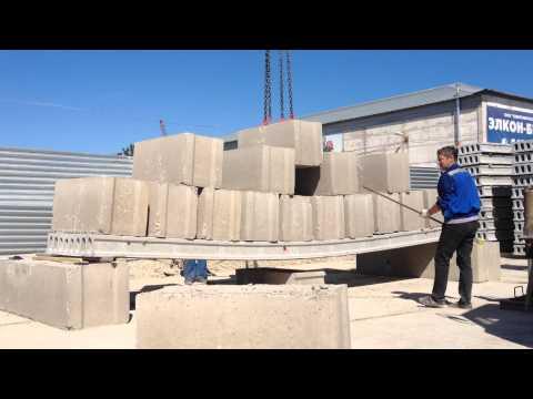 Испытание железобетонной плиты перекрытия сотрудниками инженерно-строительного института СПбПУ