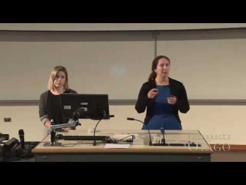 Stella Cameron and Louise Parr Brownlie: NZ International Science Festival 2016