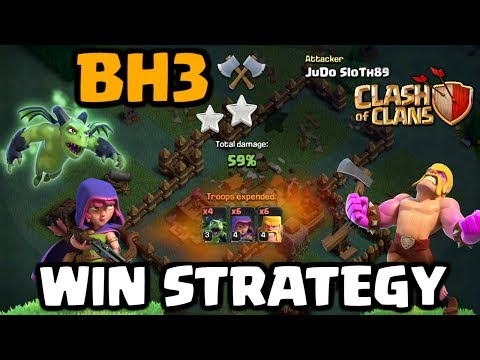 Builder Hall Level 3 Win Strategy - 2 Star Wins! Let's Play The New CoC Update #6 | Clash Of Clans