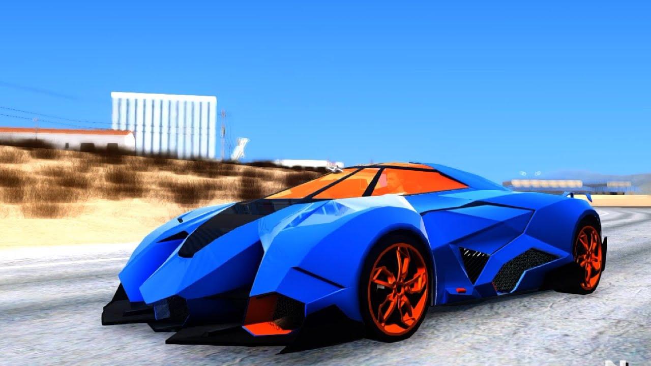 Lamborghini Egoista - GTA San Andreas   EnRoMovies - YouTube