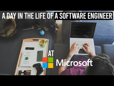 A Day In The Life Of A Software Engineer At Microsoft | Expectation vs Reality
