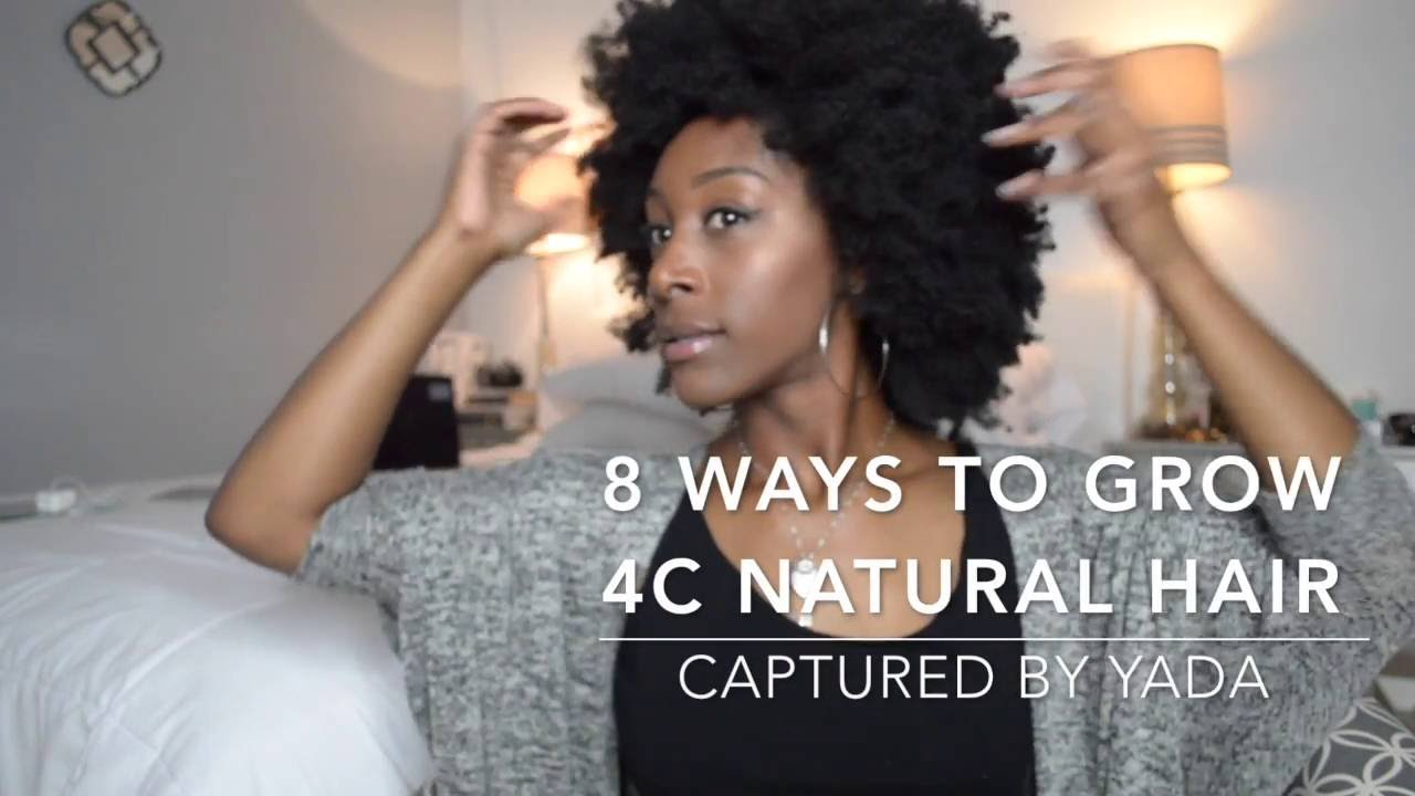 How To Grow Out Your Natural Hair