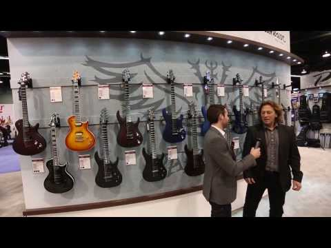 Washburn New Parallaxe Series Guitars - NAMM 2014