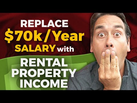 How to Replace a $70,000 a Year Salary with Real Estate Investments and Rental Property