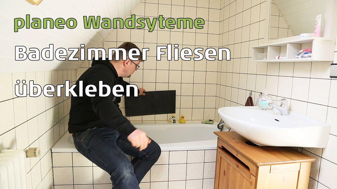 Badezimmer Wnde renovieren mit planeo Wandsysteme  YouTube
