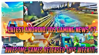 Asphalt 9| Fortnite Android| Off the road Download| PUBG Mobile 0.7.0| Latest Android/Ios Gaming News #7