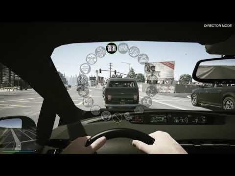 Tom Hanks & Rita Wilson's Driving:Toyota Prius (GTA V)