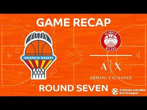 Highlights: Valencia Basket - AX Armani Exchange Olimpia Milan