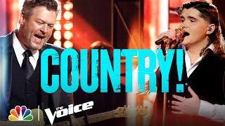 Download The Best Country Performances of the Season - The Voice 2021