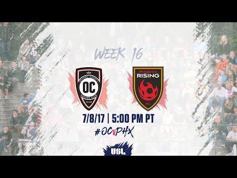 USL LIVE - Orange County SC vs Phoenix Rising FC 7/8/17