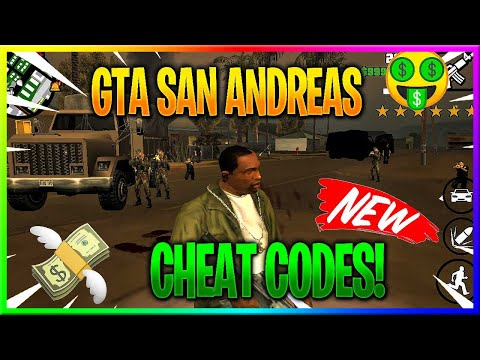 How To Do Cheat Codes On GTA San Andreas On Handheld Devices!