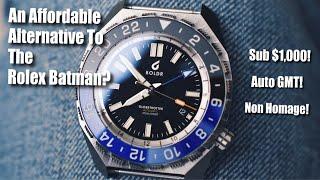 Baixar An Affordable Alternative To The Rolex Batman! (Boldr Globetrotter GMT Review)