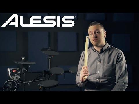 Alesis Burst Kit | Seven-Piece Electronic Drum Kit with Professional Drum Module