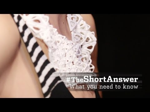 3-D Printed Fashion: The Next Big Thing? | #TheShortAnswer w/Jason Bellini