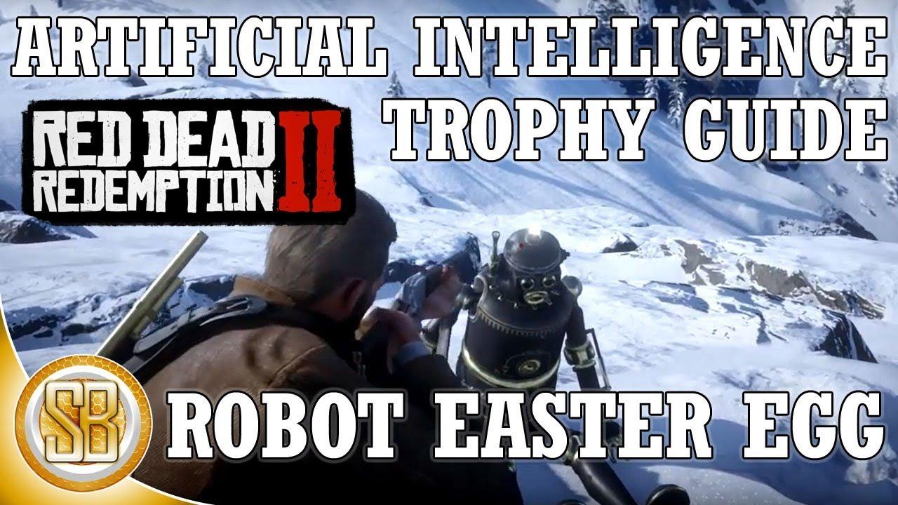 Red Dead Redemption 2 - Artificial Intelligence Trophy Guide - Marko Dragic (RDR2 Robot Easter Egg)