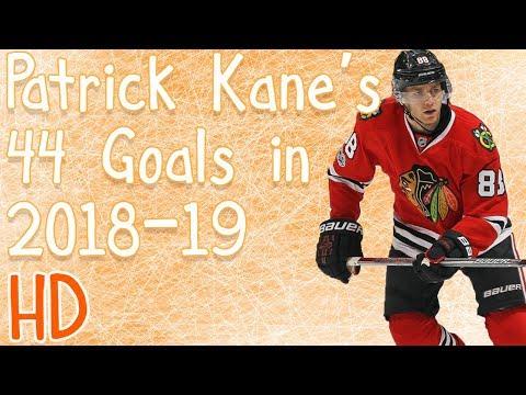 Patrick Kane's 44 Goals in 2018-19 (HD)