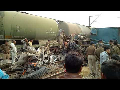 Accident on Sahjani railway crossing unnao