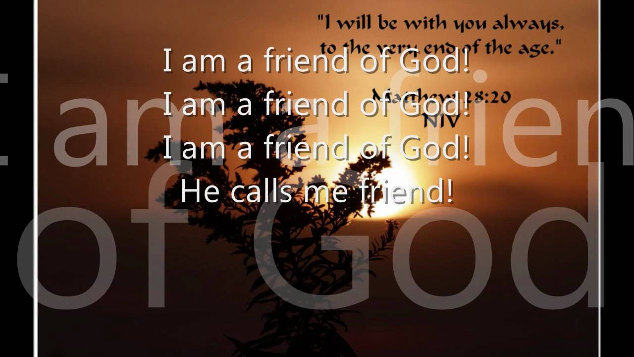 I am a friend of god phillips craig dean lyrics youtube hexwebz Choice Image