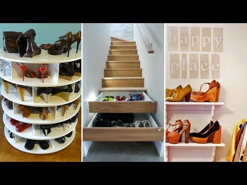 10 Shoe Storage Project Ideas For Limited Space