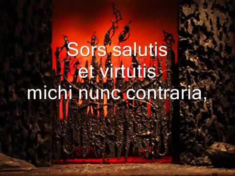 Carl Orff - O Fortuna - Carmina Burana - Lyrics