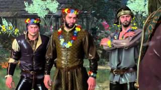 """Ведьмак 3 Каменные сердца """"Дрын -  лучшее оружие против свинопасов"""""""
