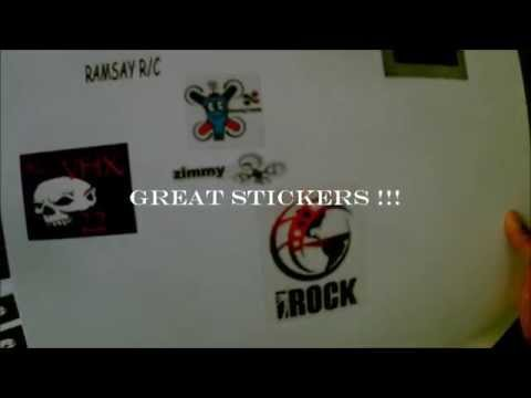 NEWS STICKERS OF RC VHX 22