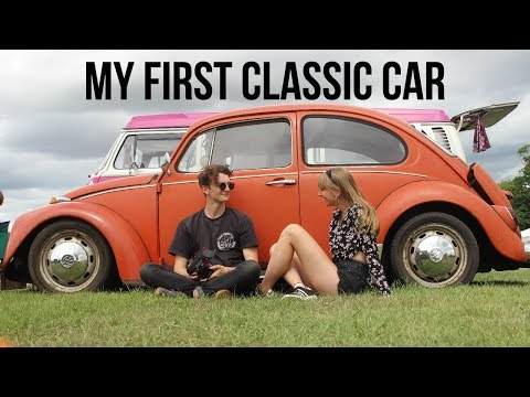 MY FIRST CLASSIC CAR SHOW | Rustbucket Road Trips Beetle Vlog Episode 2