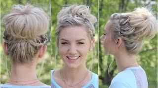 Waterfall Bun | Updo | Cute Girls Hairstyles