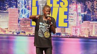 SEE WHAT THIS BOY DID AT COMEDY FILES LAST NIGHT! WONDER KID FREE STYLE