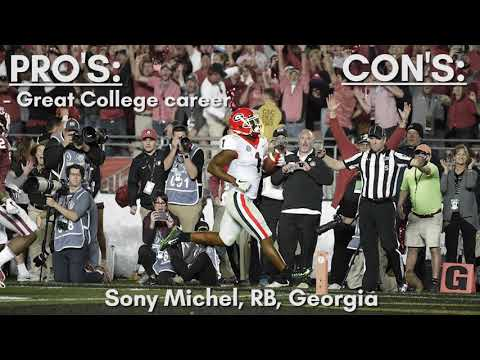 Brock's Draft Profile - Sony Michel, RB, Georgia