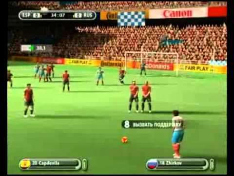 Видео обзор игры — UEFA Euro 2008